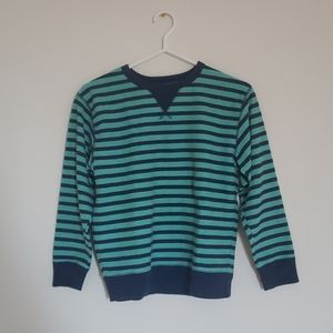 Gapkids Blue Striped Sweatshirt